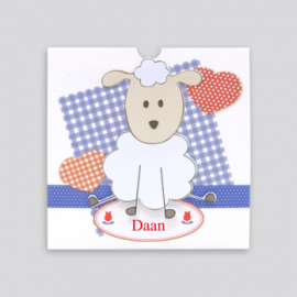 Dutch patchwork met schaapje - CO903